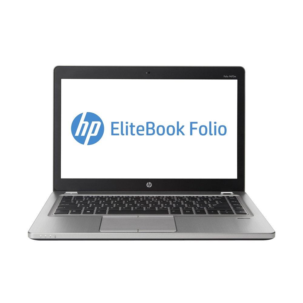"""HP EliteBook Folio 9470m (14"""" UltraBook), Intel Core i5, 8GB RAM, 256GB SSD, UMTS, Webcam, Bluetooth, WLAN, Win10Pro(Zertifiziert und Generalüberholt)"""