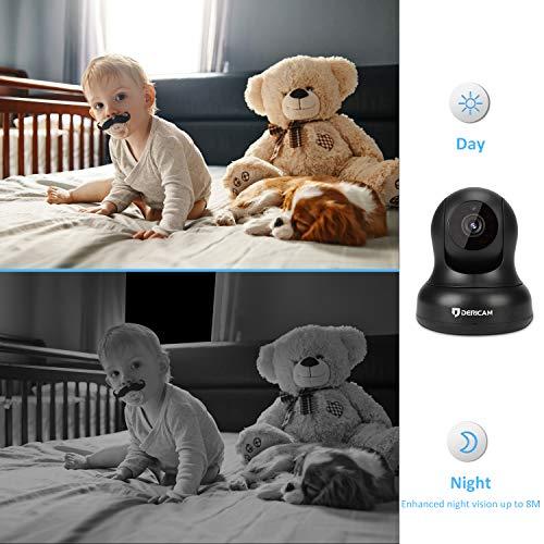Dericam Home Security Camera,1080P Full HD WiFi IP Security
