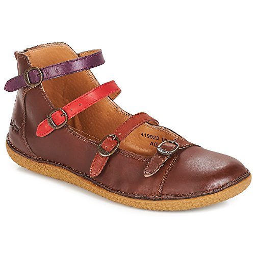 Multico Braun Donna Kickers Ballerine Marron Honoree YanYxW8