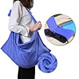 good looking luxury patio design ideas KING DO WAY Lounge Chair Beach Towel Cover Microfiber Pool Lounge Chair Cover with Pockets Holidays Sunbathing Quick Drying Terry Towels Blue 82.5''x27.5''