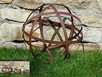 Patina Ball Metal Strap 40 Cm Width 2 Cm Amazon Co Uk Garden