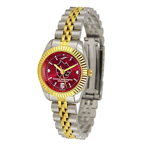 SunTime Central Washington Wildcats Ladies Executive AnoChrome Watch