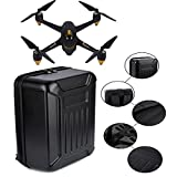 Besde ABS Hard Shell Backpack Case Bag For Hubsan X4 H501S Quadcopter (Black, A)