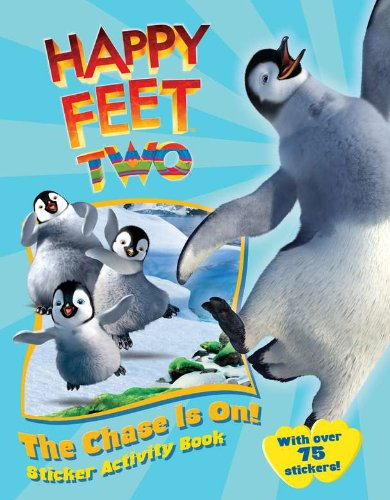 The Chase Is On!: Sticker Activity Book (Happy Feet 2)