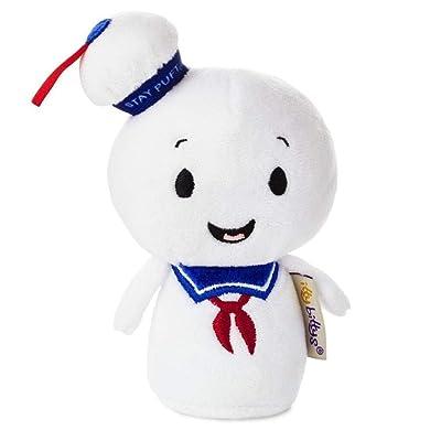 Hallmark itty bittys Ghostbusters Stay Puft Marshmallow Man Stuffed Animal: Toys & Games