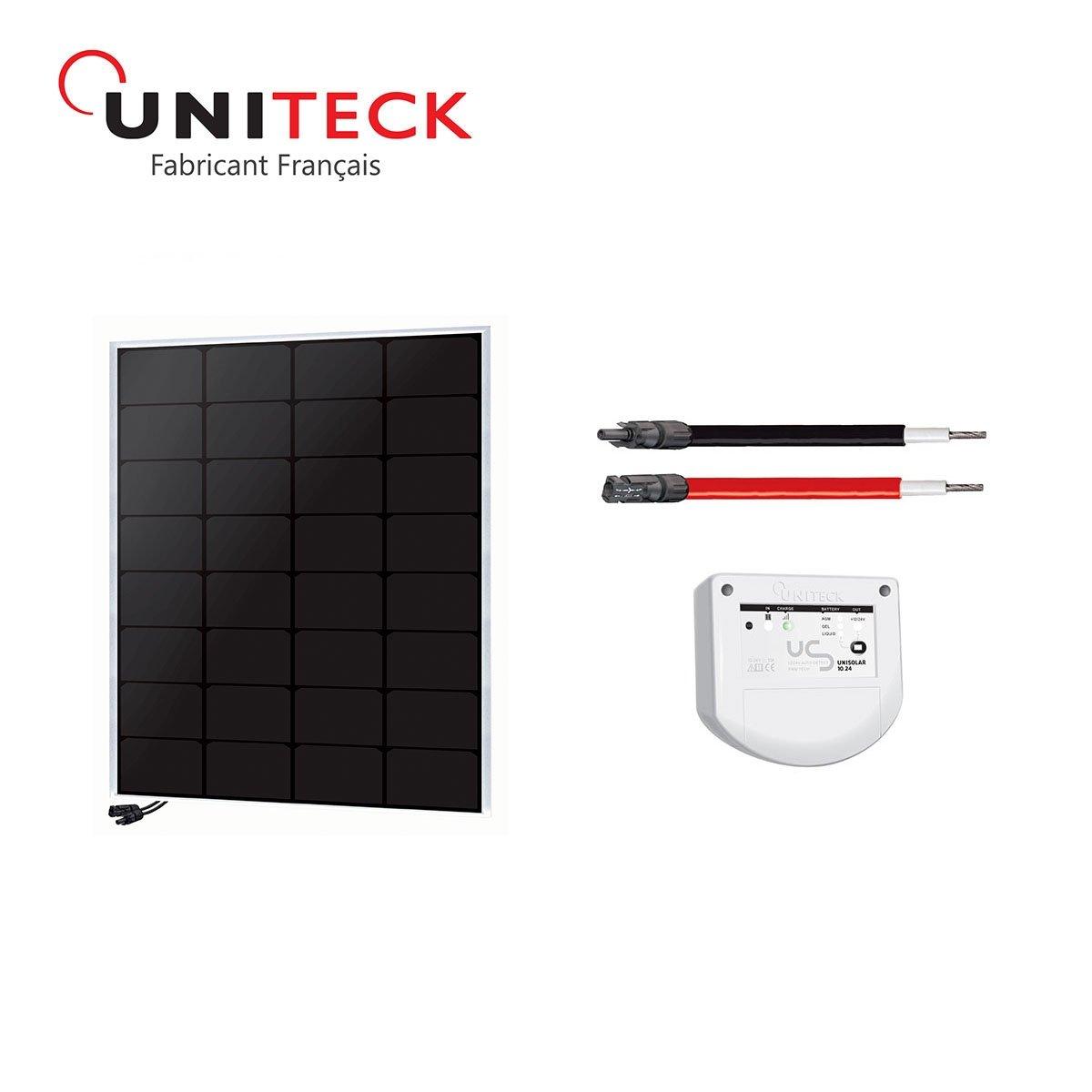 Kit solar 50W back-contact 12V uniteck
