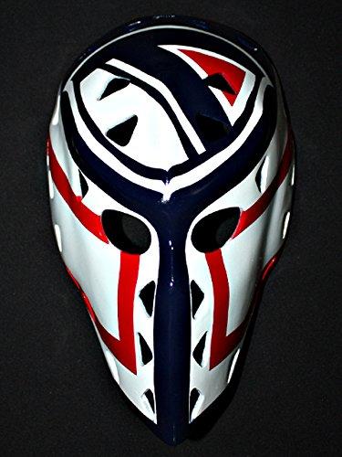 - tripple_777 1:1 Custom Vintage Fiberglass Roller Ice Hockey Goalie Mask Keeper Helmet Doug Soetaert HO81