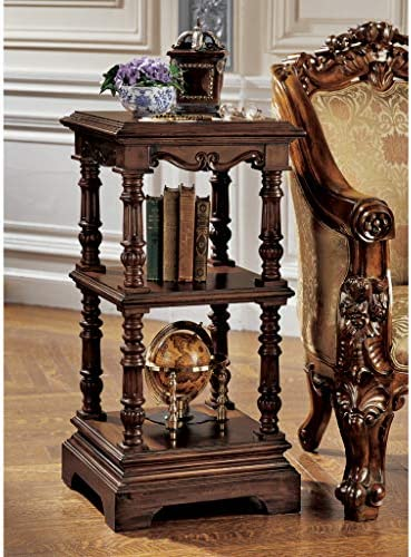Deal of the week: Design Toscano The Lord Pimlicoe Etagere End Table