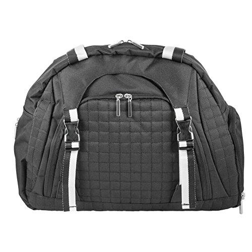 The Danielle by j/fit - Yoga Mat Bag - Black (J Fit Yoga Mat Shoulder Tote)