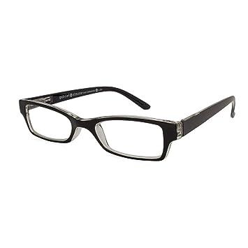 8bbbe8e82c Image Unavailable. Image not available for. Color  Gabriel + Simone  Saint-Germain Black Unisex Reading Glasses