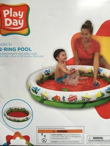 Play Day Inflatable Kiddie Pool by Play Day