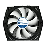 ARCTIC Alpine 64 Plus CPU Cooler - AMD, Supports Multiple Sockets, 92mm PWM Fan at 23dBA