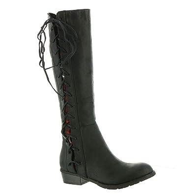 3996d8660d4 Very Volatile Tabloid Women's Boot 6 B(M) US Black-Red-Multi