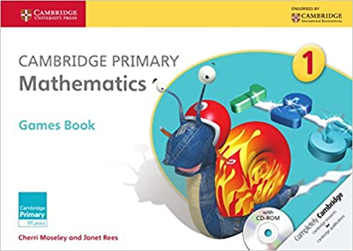 amazon cambridge primary mathematics stage 1 games book with cd