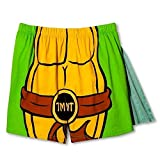 Nickelodeon Men's Teenage Mutant Ninja Turtles Caped Boxers (Medium)