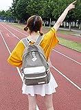 Toniker Teen Girls Canvas Backpack Casual School