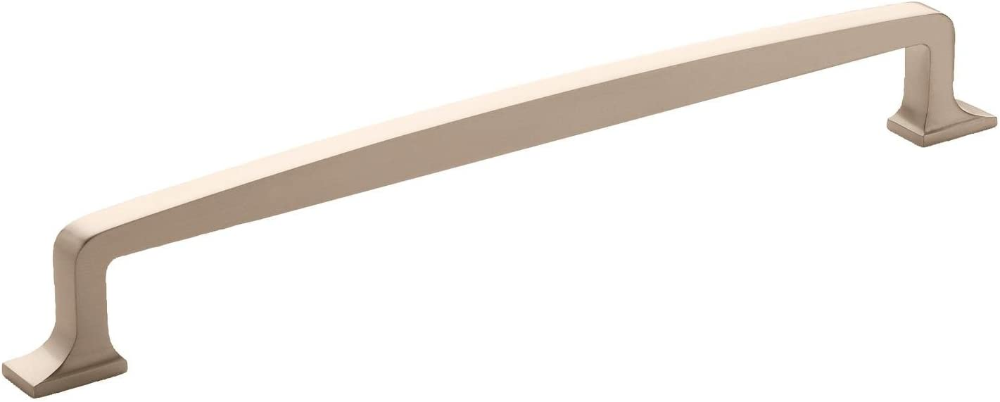 Amerock Westerly 12 in (305 mm) Center-to-Center Satin Nickel Appliance Pull