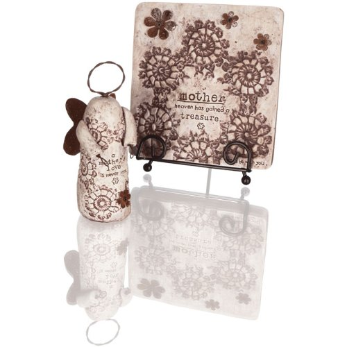 Carson Home Accents Mother Plaque & Figurine Gift Box Set