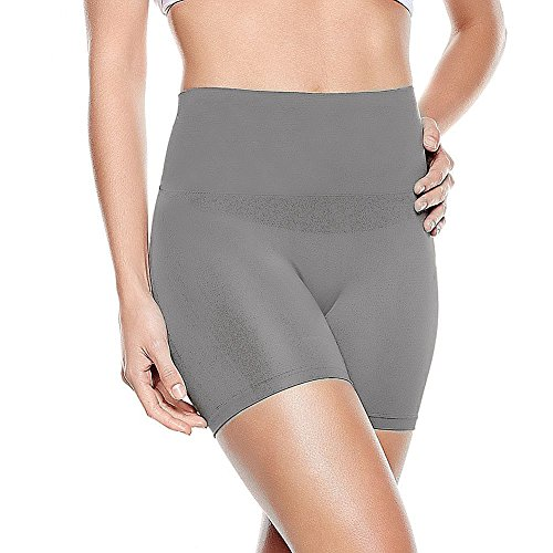 Yummie by Heather Thomson Seamless Nylon Shortie 3-pack (Large / X-Large, Hush/Nude/Sleet)