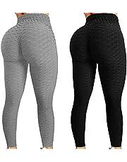 2 ST TIK Tok Leggings Butt Lift Leggings Vrouwen Yoga Pant Hoge Taille Butt Lifting Bubble Hip Lift Workout Broek