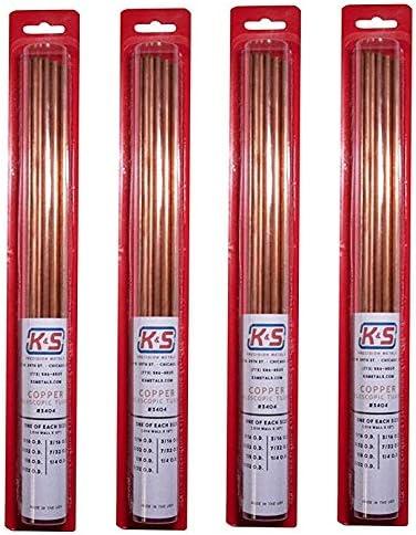 "K/&S 12/"" long 3//8/"" OD Brass tube"