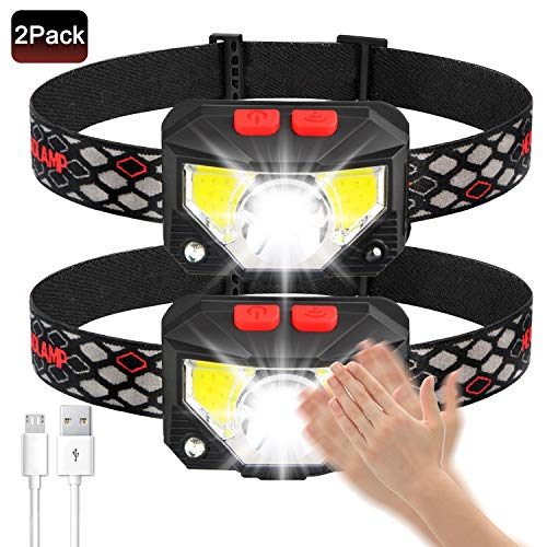 Soft Digits Headlamp Flashlight