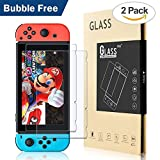 BENOKER Screen Protector for Nintendo Switch, Tempered Glass Screen Protector of Nintendo Switch Accessories, Case-friendly for Nintendo Switch Case - 9H, HD, Bubble Free, Anti-Scratch (NS-2 pack)