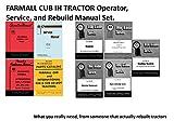 FARMALL CUB TRACTOR MANUAL SET OPER/SERVICE/REPAIR/PARTS Rebuild coil bind