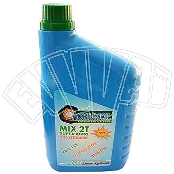 1 lt Aceite Mix 100% sintético 50: 1 para motor 2 tiempos ...
