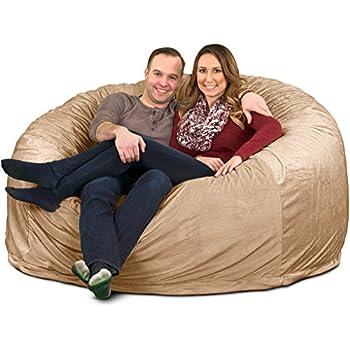 Amazon Com Ultimate Sack 6000 Bean Bag Chair Giant Foam