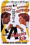 Adam's Rib Poster Movie 11x17 Spencer Tracy Katharine Hepburn Judy Holliday Tom Ewell