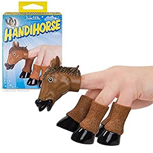 Handihorse Prancing Pony Hand Puppet