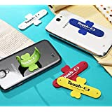 Link+ Universal Portable Touch U One Touch Silicone Stand for iPhone,Samsung,HTC,Sony And Other Mobile Phones & Tablets - Color May Vary
