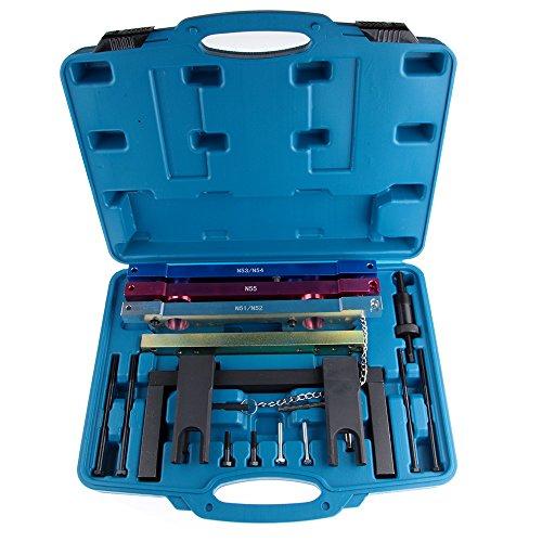 SCITOO Fit BMW N51 N52 N53 N54 N55 New Camshaft Crankshaft Timing Locking Master Tool Kit Timing -