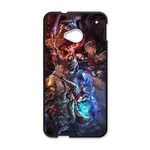HTC One M7 Black phone case League of Legends Ahri AJK8719296