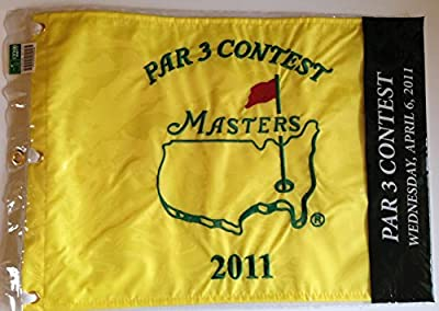2011 MASTERS Golf Tournament Par 3 Three Contest Pin Flag Augusta National