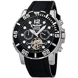 Perigaum Automatic Men's Watch P-1104-S-Pu