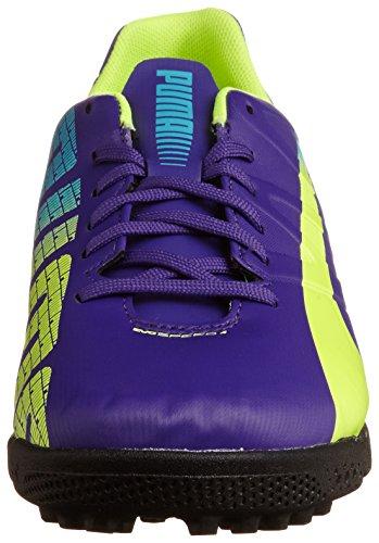 Puma Evospeed 4.3 Tt - Zapatillas de fútbol Hombre Prism Violet/Fluro Yellow/Scuba Blue 01