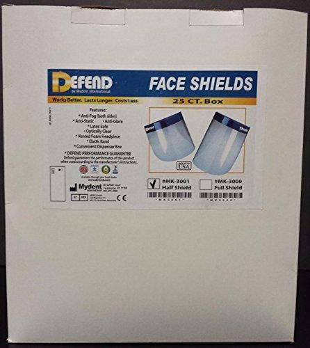 Dental Face Half Shield Mask