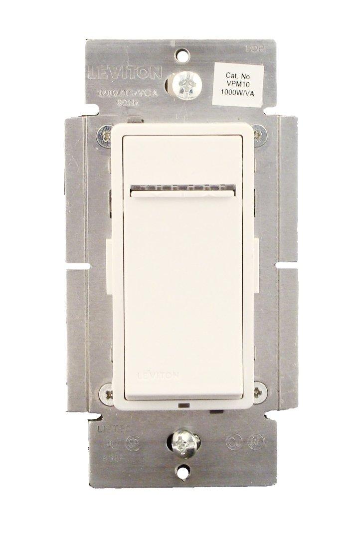 Leviton VPM10-1LX, Vizia + Digital 1000W Incandescent/1000VA ...