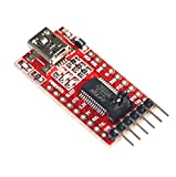 Qunqi 3.3V 5.5V FT232RL FTDI Usb to TTL Serial Adapter Module for Arduino Mini Port