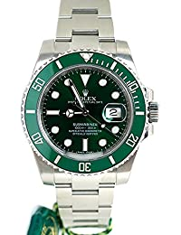 Submariner Date 40mm Green Dial Mens Watch 116610. Rolex