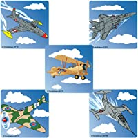 SmileMakers Jet Fighters Stickers 100-pak