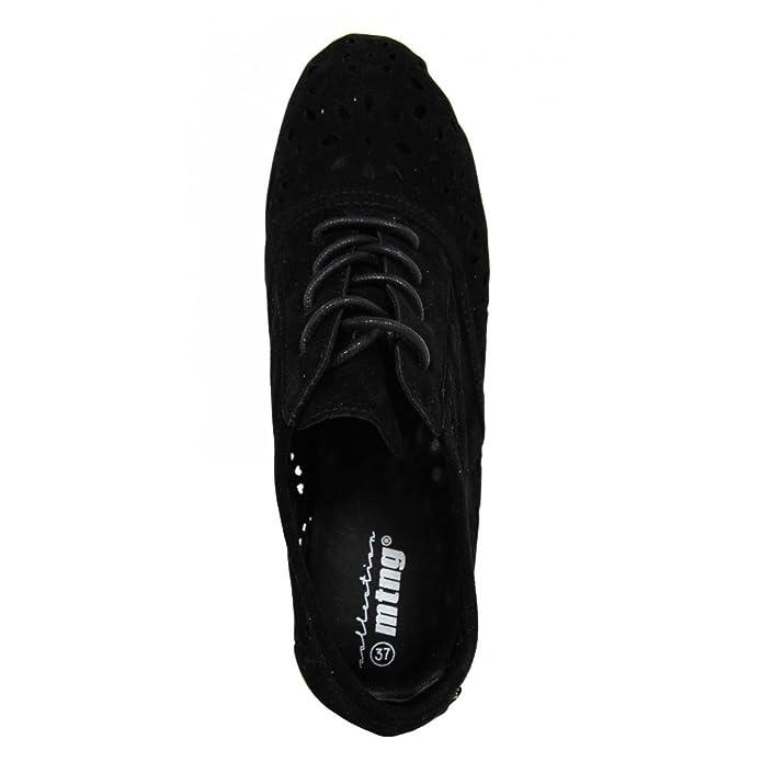 Chaussures pour Femme MTNG 58010 FLOCATA NEGRO i7SkyJ