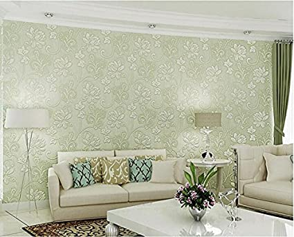 Ayzr 3D Three-Dimensional Butterfly Floral Wallpaper ...
