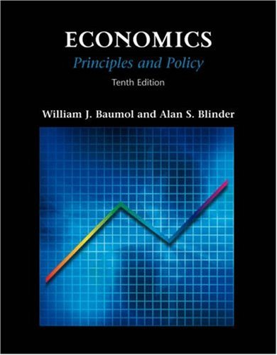 Economics: Principles and Policy (with InfoTrac)
