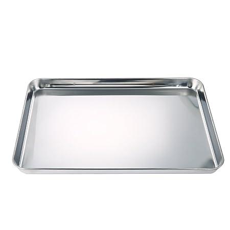 LinTimes cuadrado hoja de pan – Molde para horno, pesada de acero ...