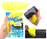 DURAGADGET Home and Office Yellow 'Magic Clean' Phone Non-Sticky Cleansing Gel for Geeksphone Blackphone, Geeksphone Revolution