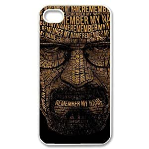 Breaking Bad Unique Fashion Printing Phone Case for Iphone 4,4S,personalized cover case ygtg320393