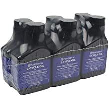 Husqvarna 2.6 oz Low Smoke Formula 2-Cycle Engine Oil 6-Pack